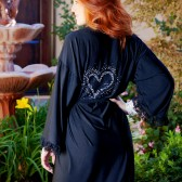 Black Lace robe