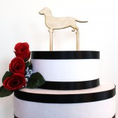 Custom Dog Cake Topper