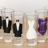 personalized corset shot glasses
