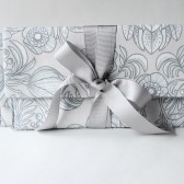 Bridesmaid Clutch Set in, Grey, Custom Options Available