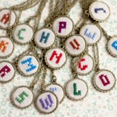 Initial necklace - personalized