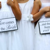 Flower Girl/ Ring Bearer Sign
