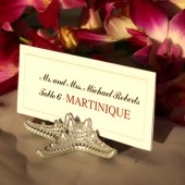 Silver Starfish Place Card/Escort Card Holders