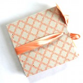 Coral moroccan Guest Book and Album