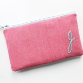 Personalized Bridesmaid Monogram Clutch