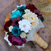 Rustic Vineyard Inspired Paper Bouquet