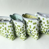 Monogrammed Cosmetic Bags, Bridesmaid Gift