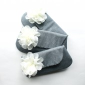 Bridesmaid Clutches, Gray and Ivory