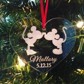mickey minnie ornament