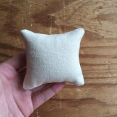 Plain ring-bearer pillow