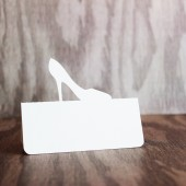 High Heel Place Card