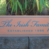 Custom family sign with family name and established date - personalized - custom wood sign in colors of your choice