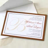 Wedding Initial Invitation