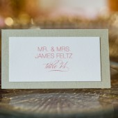 Elegant Wedding Place Cards