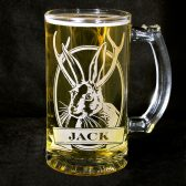 Personalized Jackalope Beer Mug