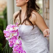 Jasmine - Beautiful Cascading Orchid Bridal Bouquet
