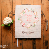 Bohemian Wedding Guest Book