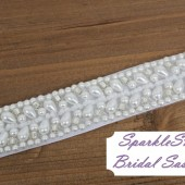 Julianna Bridal Sash - SparkleSM Bridal Sashes