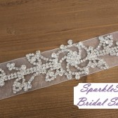 Juliet Bridal Sash - SparkleSM Bridal Sashes