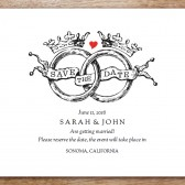 Kate and Wills Printable Save The Date
