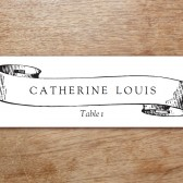 Kate and Wills Printable Place Card
