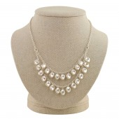 'Keira' Boho Pearl Necklace