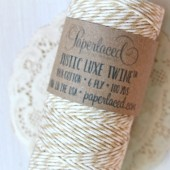 Kraft + Natural Rustic Luxe Twine