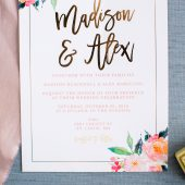 Standing Ovation Wedding Invitations