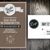 License to Wed Invitation