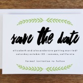 Printable Save the Date Template - Laurel