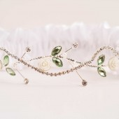 LAUREN Wedding Garter