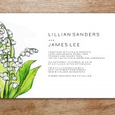 LeMayr Printable Wedding Invitation