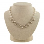 'Leah' Pearl Necklace