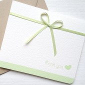Light Green Wedding Thank You