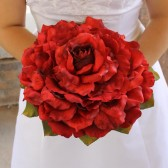 Lindsey - Large Single bloom Rose Glamelia Bouquet