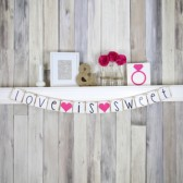 Love is Sweet Wedding banner