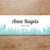 Love Birds Printable Place Card