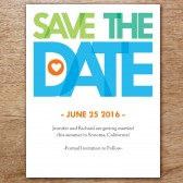 Love Joy Happiness Printable Save The Date