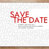 Love and Happiness Save The Date
