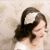Diamante Pearl Bridal Headband