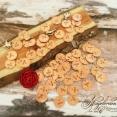 Wedding Favor Pennies Lucky {Heart}