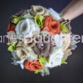 Fall Burlap Bouquet