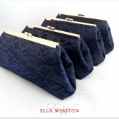 Navy Blue and Champagne Bridesmaid Gifts