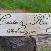 Custom Wedding Sign, Driftwood Sign, Rustic Wedding Sign, Beach Wedding Sign, Photo Prop, Save the Date, Wood Burned Sign on Driftwood