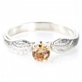 Harry Potter Golden Snitch Engagement Ring