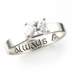 """Harry Potter """"Always"""" Engagement Ring"""