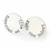 "Star Wars ""Together We Will Rule the Galaxy"" Cuff Links"