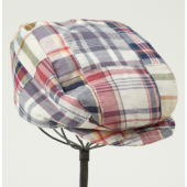 Boys Madras Hat