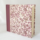 Photo Album Magenta Cherry Blossom