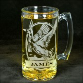 Personalized Mallard Gift for Groomsmen Beer Stein